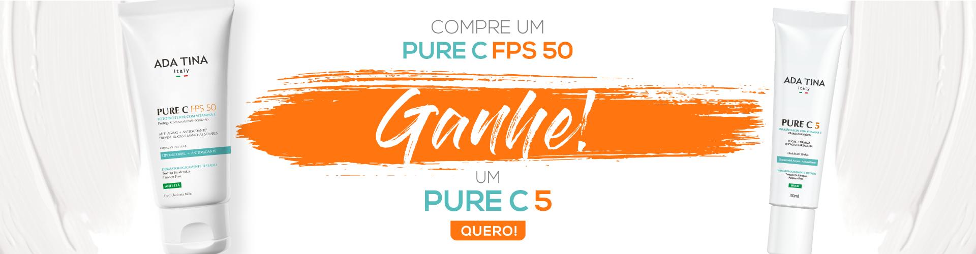PROMOÇÃO PURE C FPS 50