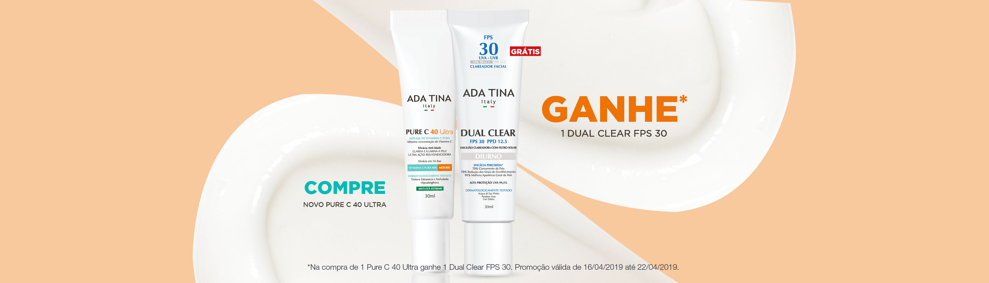 16/04 a 23/04 Pure C e Dual Clear FPS 30
