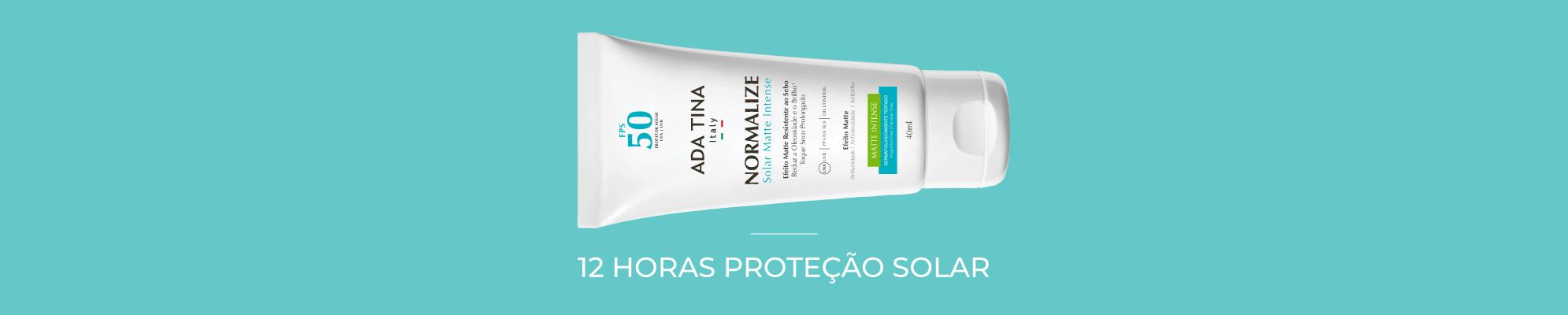Banner Desktop - Proteção Solar / Normalize