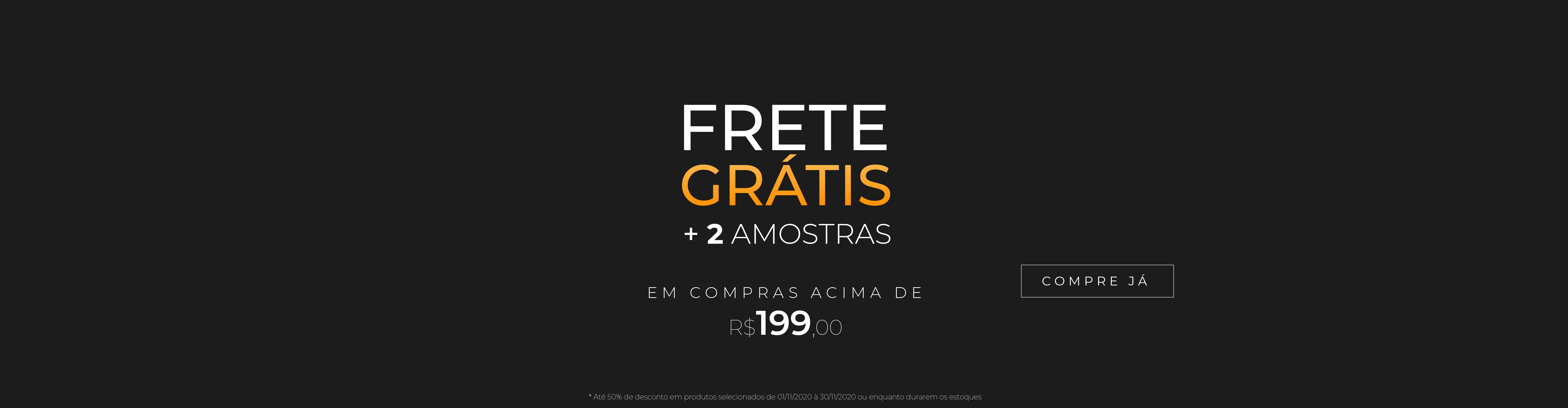 FRETE GRÁTIS BLACK FRIDAY FULL